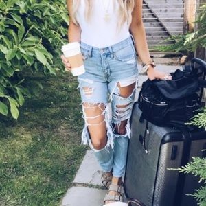 American Eagle Outfitters TomGirl Boyfriend Jeans